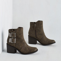 Urbanite on the Town Bootie in Pavement by Rocket Dog from ModCloth