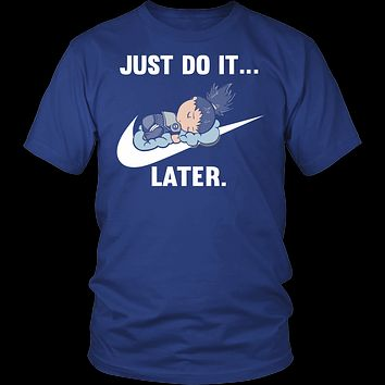 Naruto - Just do it later - Men Short Sleeve T Shirt - TL01087SS