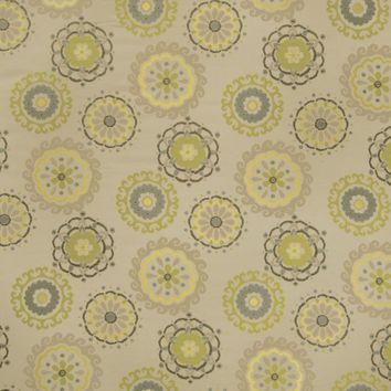 Fabricut 2926701 Easy Rider Graphic Lime