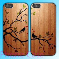 Birds Song design Couple love case for iPhone 4 case and iPhone 5 case.