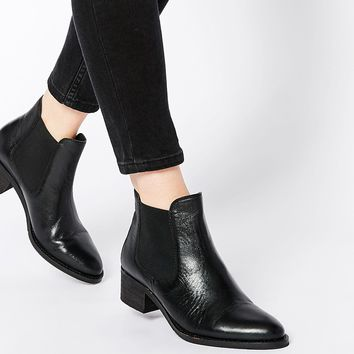 Park Lane Mid Leather Chelsea Boots
