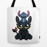 Can I Sit Here Tote Bag by Katie Simpson