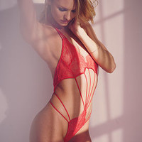 Chantilly Lace Strappy Teddy - Very Sexy - Victoria's Secret