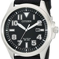 Citizen AW1410-08E Eco-Drive Men's Watch in Stainless Steel: Amazon.ca: Watches