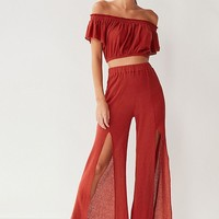 Out From Under Wylie Bardot Beach Top | Urban Outfitters