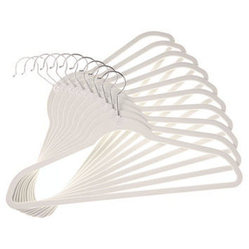 Joy Mangano 10-Pc. Huggable Hanger Set for Suits | macys.com