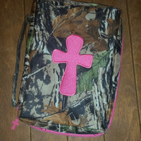 Camo Woods Bible Cover