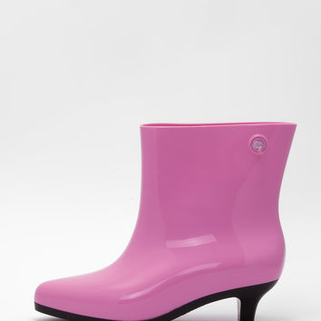 Melissa - Pink Ankle Boot + Jeremy Scott