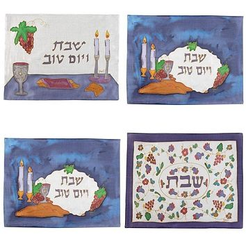 Challah Covers - Silk Painted
