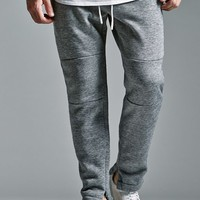 On The Byas The Drop 2.0 Fit Fleece Jogger Pants - Mens Pants - Gray