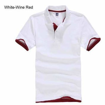 White Men's/ Women's Polo Shirt XS-3XL