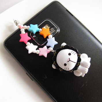 Rio the Lion from Sentimental circus Fairy Kei Fantasy Sweet Harajuku Style Iphone Dust Plug Galaxy S2 S3 Ipod Ipad Deco