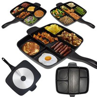 Sectioned Non-Stick Grill Pan