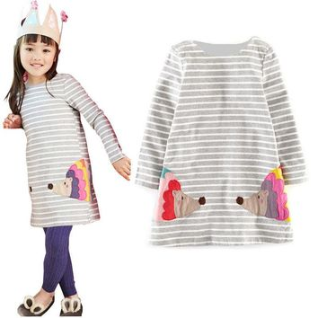 Baby Girl Dress long sleeve kids dresses for girls Clothes children clothing Kids Clothes winter Party New Year Girls Dress