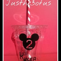 12/12OZ Mickey Party Cups/Mickey Mouse Party Cup/Kids Cups/Mickey Mouse Cup/Party Cups/Mickey Party Favor/Kids Party Cup/Minnie Party Favors