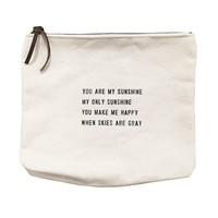 Canvas Bag - You Are My Sunshine