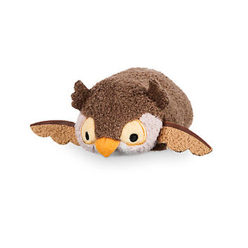 Disney Usa Owl from 75th Anniversary Bambi Mini Tsum Plush New with Tags