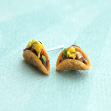 Tacos Stud Earrings