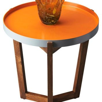 Butler Clyde Round Tray Table
