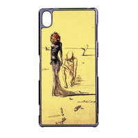 Salvador Dali Woman With Flower Head Sony Xperia Z3 Case