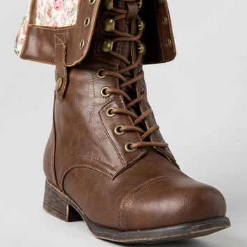 Surprise Combat Boot In Cognac