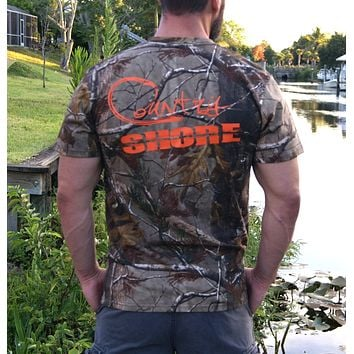 Signature Series Camo Short Sleeve Tee with Pocket