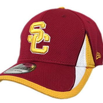 USC Trojans New Era 39THIRTY Mesh Hat Stretch Fitted (S/M)