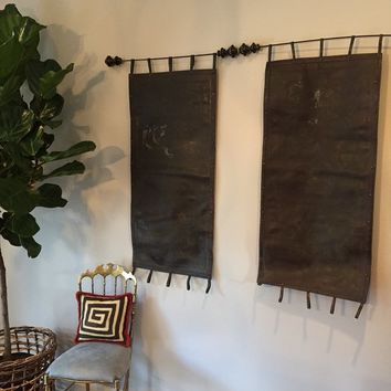 Indian Wallhangings owned by Darryl Carter
