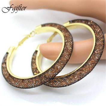 Charming Large Hoop Ear Rings 60mm in 18 Colors