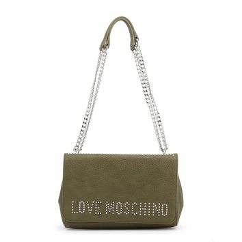 Love Moschino Green Shoulder Bag