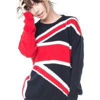 Brandy ♥ Melville |  Polly Flag Sweater - Just In