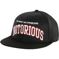 Notorious B.I.G. Men's  Mo Money Baseball Cap Black Rockabilia