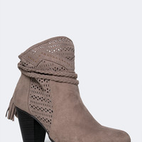 Braided Slouch Bootie