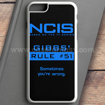 Ncis Gibbs Rule iPhone 6 Case | casefantasy