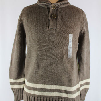 Boys Gap Knit Sweater, size 8, Medium