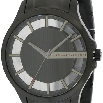 Armani Exchange Black Stainless Steel Watch AX2189