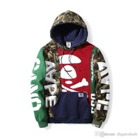 New Style Men's Hip Hop Streetwear Hoodie Tide Brand Men Women Casual Hedge Streetwear Hoodie Tops
