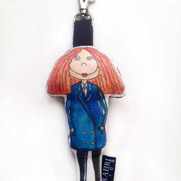 Mini Grace Coddington Doll Bag Charm