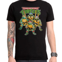 Teenage Mutant Ninja Turtles Action Figures T-Shirt