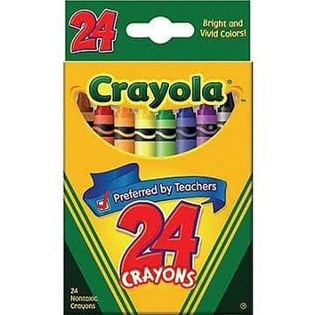 Crayola Classic Color Pack Crayons 24 Count (Pack of 4) 4 packs of 24