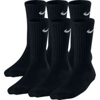Nike Kids' Cotton Crew Socks 6 Pack| DICK'S Sporting Goods