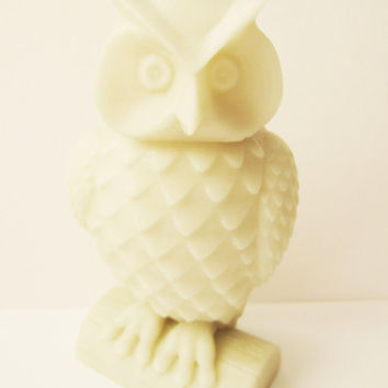 3-D Printed Owl Woodland Statue Sculpture Animal Bird Home Decor 3D Print Geek