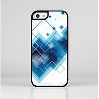 The Blue Levitating Squares Skin-Sert Case for the Apple iPhone 5c