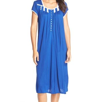 Women's Eileen West Sleepwear 'Waterflower' Modal Nightgown,