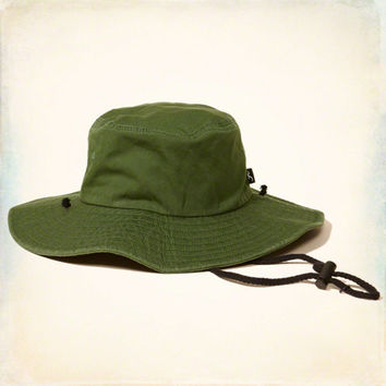 Drawstring Safari Hat