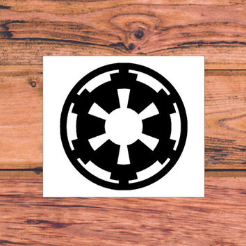 Star Wars Decal | Star Wars Silhouette Decal | Star Wars Trilogy Decal | Star Wars Logo Decal | Nerdy Decal | Star Wars Nerd | Comic | 241