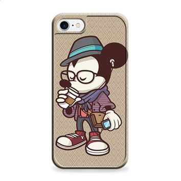 Mickey Mouse hipster coffee iPhone 6 | iPhone 6S case