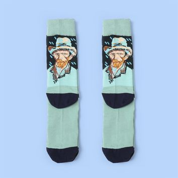 Van Gogh's Self Portrait Sock Vol.1