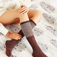 Colorblock Two-for Knee High Sock - Urban Outfitters