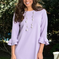 Looking Out Dress in Lilac | Monday Dress